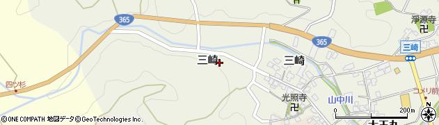 善金寺周辺の地図