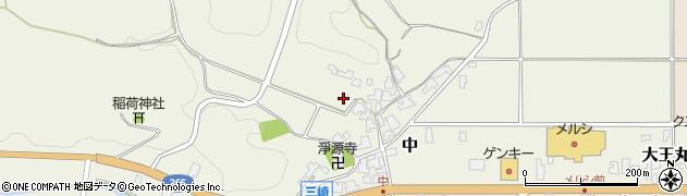 福井県越前町(丹生郡)中周辺の地図