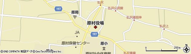 長野県原村(諏訪郡)周辺の地図