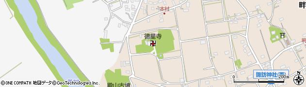徳星寺周辺の地図