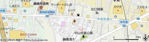 株式会社オワリヤ楽器 鹿島センター周辺の地図
