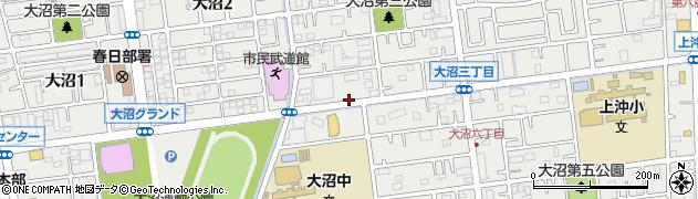埼玉県春日部市大沼の地図 住所一覧検索|地図マピオン