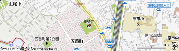相頓寺周辺の地図