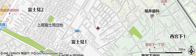 日産ディーゼル工業上尾アパート周辺の地図
