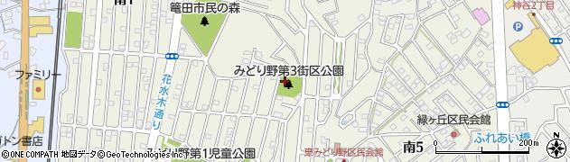 茨城県牛久市南周辺の地図