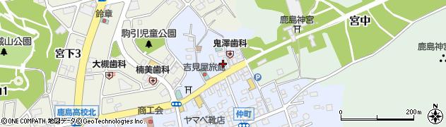 内田売店周辺の地図