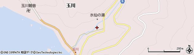 福井県丹生郡越前町玉川周辺の地図
