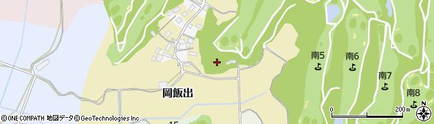 茨城県稲敷市岡飯出周辺の地図