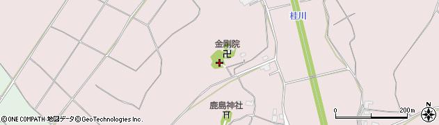 金剛院周辺の地図