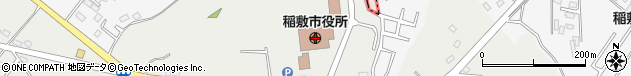 茨城県稲敷市周辺の地図