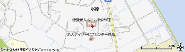 あやめ荘周辺の地図