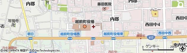 福井県丹生郡越前町周辺の地図