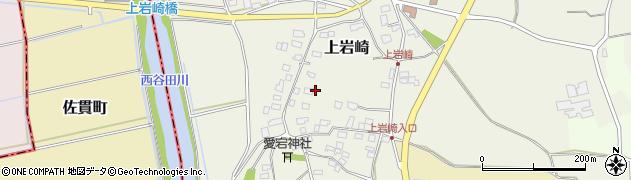 茨城県つくば市上岩崎周辺の地図