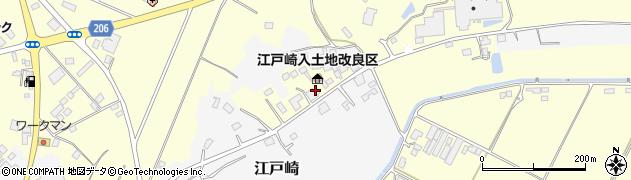 江戸崎入土地改良区周辺の地図