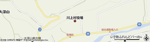 長野県南佐久郡川上村周辺の地図