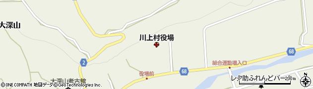 長野県川上村(南佐久郡)周辺の地図