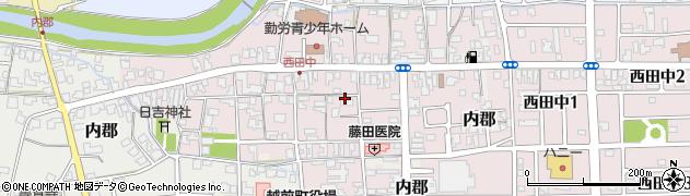 福井県越前町(丹生郡)西田中周辺の地図