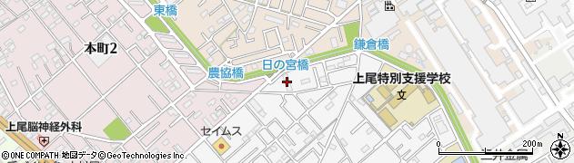 日特建設社宅周辺の地図