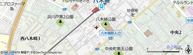 稲荷神社周辺の地図