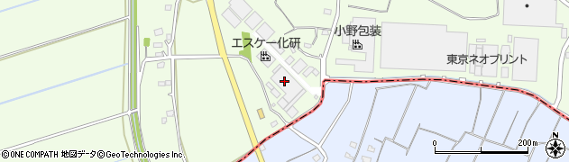 エスケー化研株式会社 大利根工場出荷担当周辺の地図