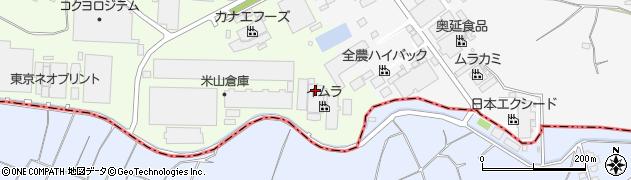 株式会社イムラ封筒 筑波工場周辺の地図