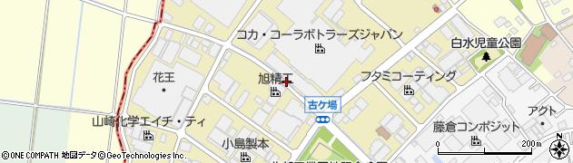 埼玉県さいたま市岩槻区古ケ場周辺の地図