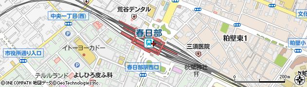 春日部駅(埼玉県春日部市) 駅・路線図から地図を検索 ...