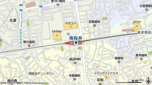 南桜井駅(埼玉県春日部市)の地図・口コミ・周辺情報│ ...