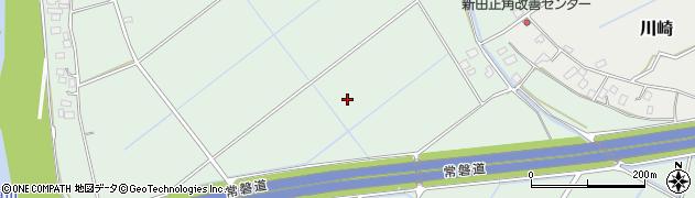 茨城県つくばみらい市鬼長周辺の地図