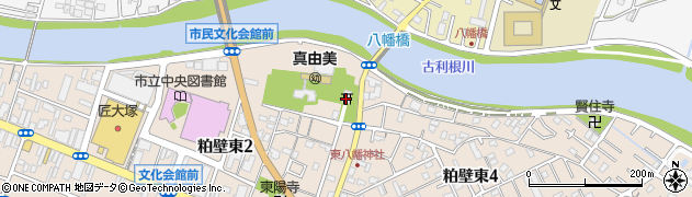 東八幡神社周辺の地図