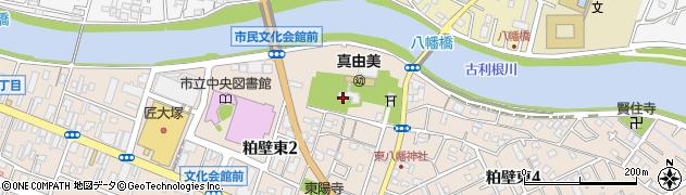 真蔵院周辺の地図