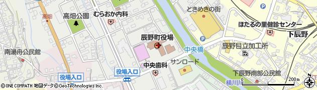 長野県上伊那郡辰野町周辺の地図