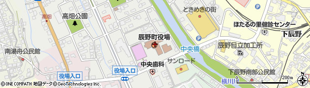 長野県辰野町(上伊那郡)周辺の地図