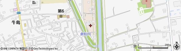埼玉県春日部市新川8周辺の地図