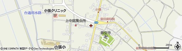 田中商店日石小張給油所周辺の地図