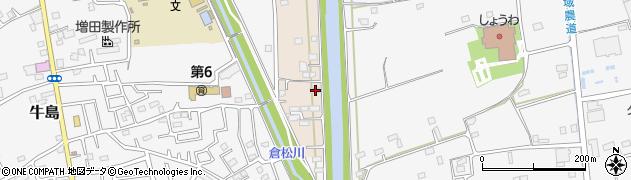 埼玉県春日部市新川18周辺の地図