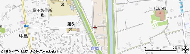 埼玉県春日部市新川16周辺の地図