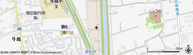 埼玉県春日部市新川21周辺の地図