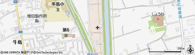 埼玉県春日部市新川22周辺の地図