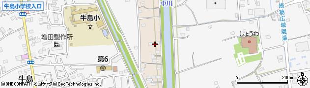 埼玉県春日部市新川31周辺の地図