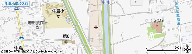 埼玉県春日部市新川32周辺の地図