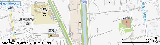 埼玉県春日部市新川29周辺の地図
