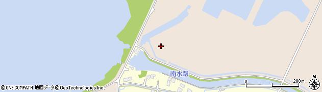 茨城県稲敷市西の洲周辺の地図