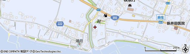 越川川魚店周辺の地図