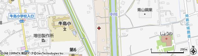埼玉県春日部市新川47周辺の地図
