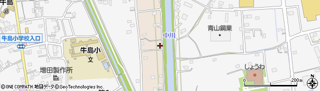 埼玉県春日部市新川54周辺の地図
