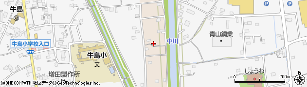 埼玉県春日部市新川61周辺の地図