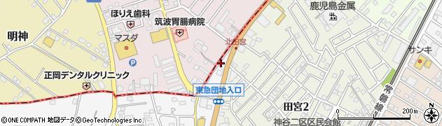 荒川沖ハイヤー株式会社 牛久営業所周辺の地図