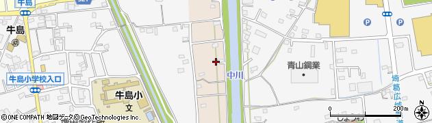 埼玉県春日部市新川74周辺の地図