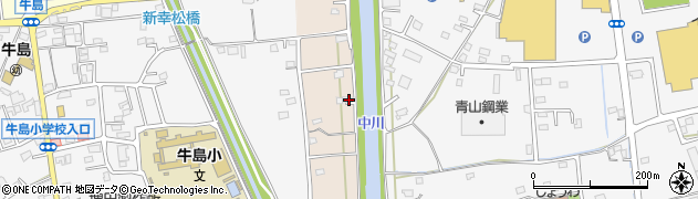 埼玉県春日部市新川69周辺の地図